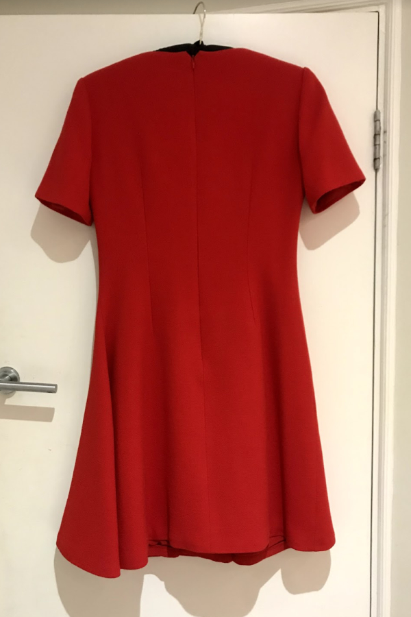 Christian Dior Red Mini Dress 4 Preview Images