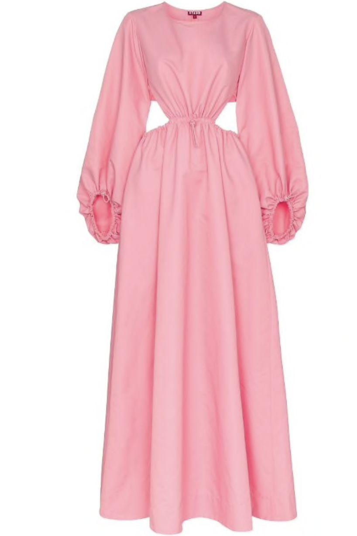 Staud Ivy Waist Cutout Maxi Dress Preview Images
