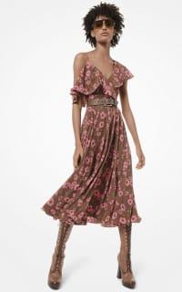 Michael Kors Floral midi dress 2 Preview Images