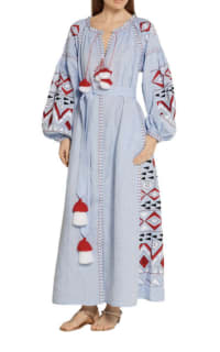 March11 Kilim embroidered maxi dress 2 Preview Images