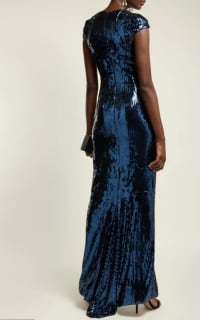 Galvan Hero sequinned gown 3 Preview Images
