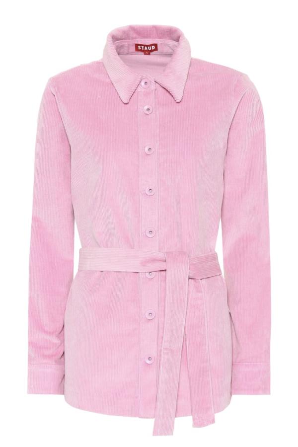 Staud Hayley corduroy jacket 2