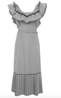 Delphi Collective Gingham Dress Preview Images