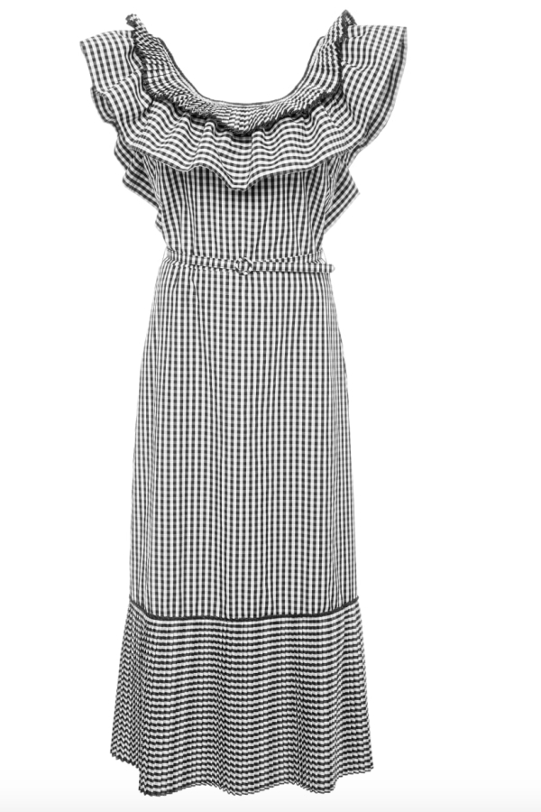 Delphi Collective Gingham Dress