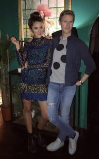 Matthew Williamson Leopard Lace Mini Dress 3 Preview Images