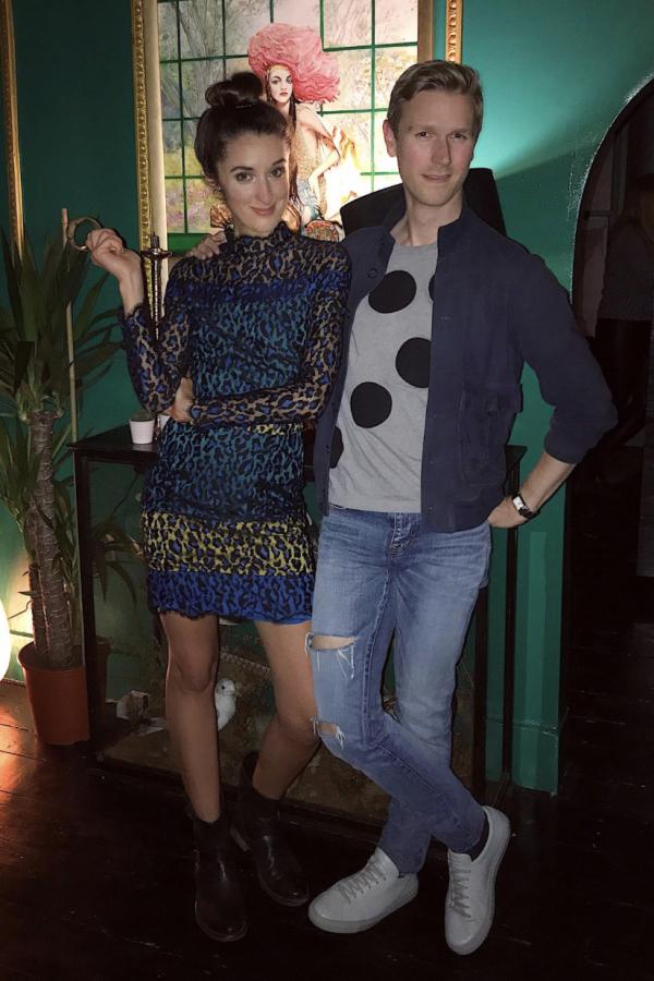 Matthew Williamson Leopard Lace Mini Dress 3