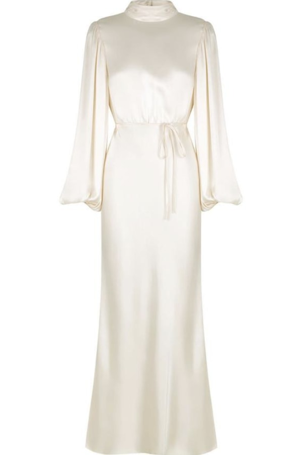 Image 1 of Shona Joy la lune open back maxi dress