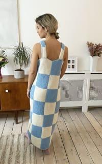 Freya Simonne Remy Checkerboard Dress 2 Preview Images
