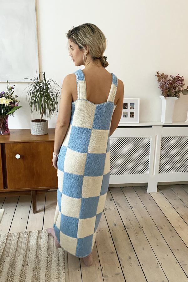 Freya Simonne Remy Checkerboard Dress 2
