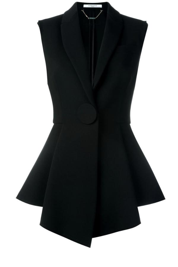 Givenchy Peplum Waistcoat