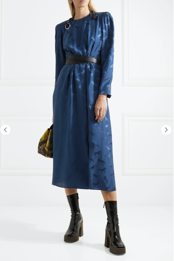Stella McCartney Horse printed dress 1 Preview Images