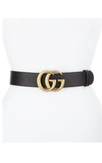 Gucci Leather Belt With Double Buckle 2 Preview Images