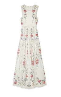 Zimmermann Laelia Cross Stitch Dress Preview Images