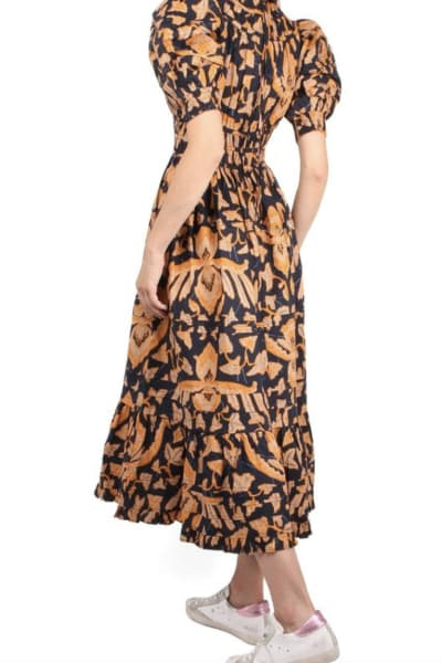 Ulla Johnson Floral Midi Dress 3