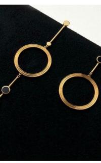Kloto Asymmetric Drop Earrings 3 Preview Images