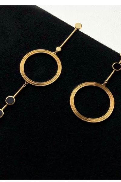 Kloto Asymmetric Drop Earrings 3
