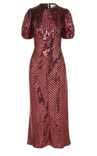 RIXO Laura Jackson Sequin Dress Preview Images