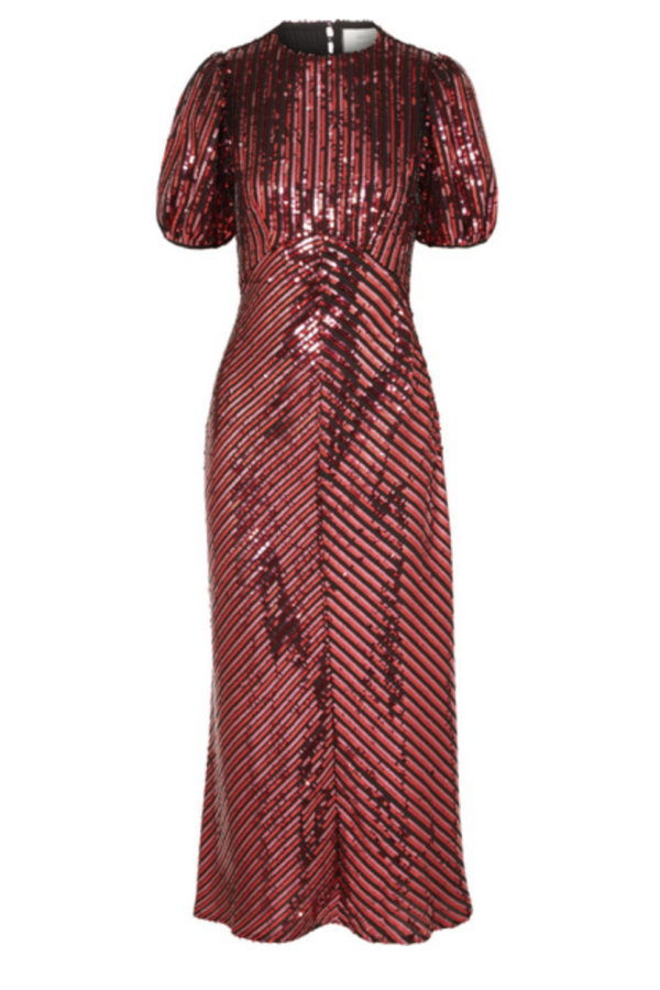 RIXO Laura Jackson Sequin Dress
