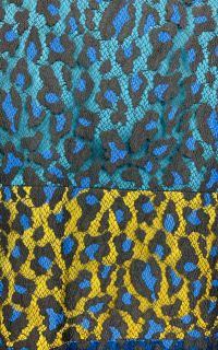 Matthew Williamson Leopard Lace Mini Dress 5 Preview Images