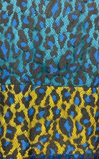 Matthew Williamson Leopard Lace Mini Dress 5 Preview Images