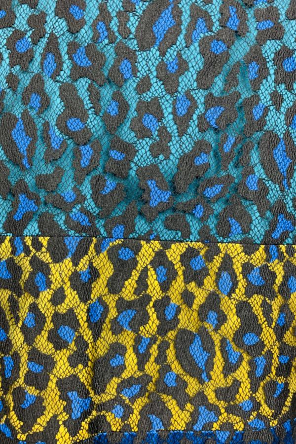 Matthew Williamson Leopard Lace Mini Dress 5