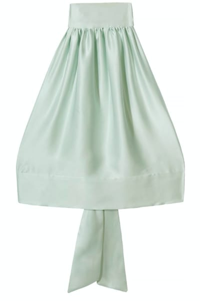Harmur Mint Green Halter Top