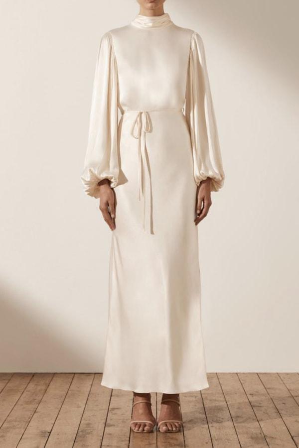 Image 2 of Shona Joy la lune open back maxi dress