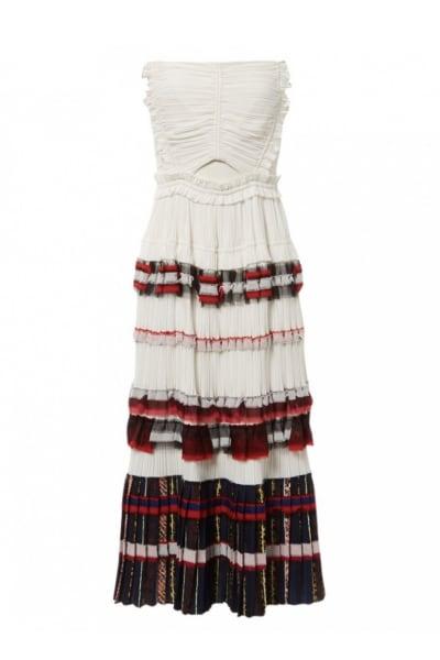 3.1 Phillip Lim Pleated Cream Dress
