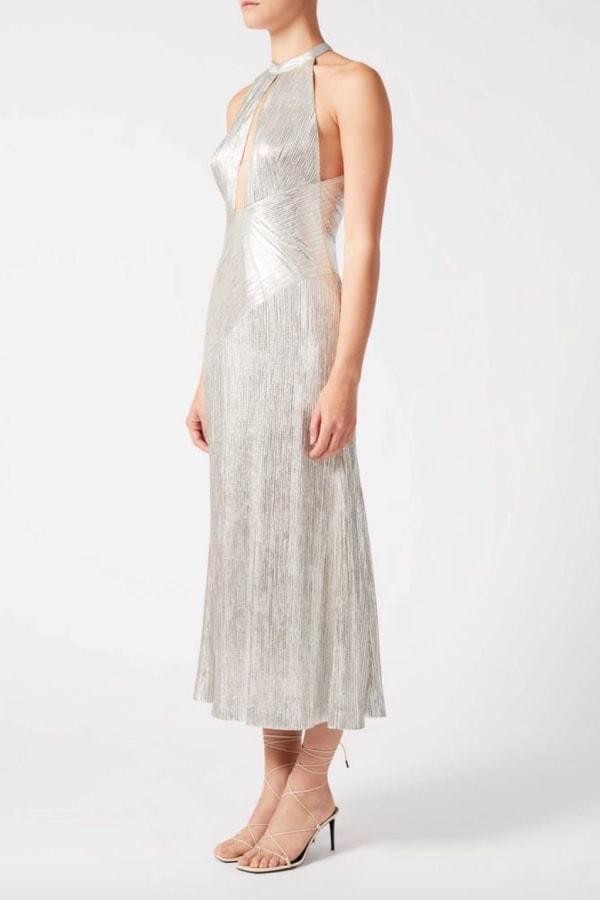 Image 3 of Galvan peek-a-boo cocktail dress