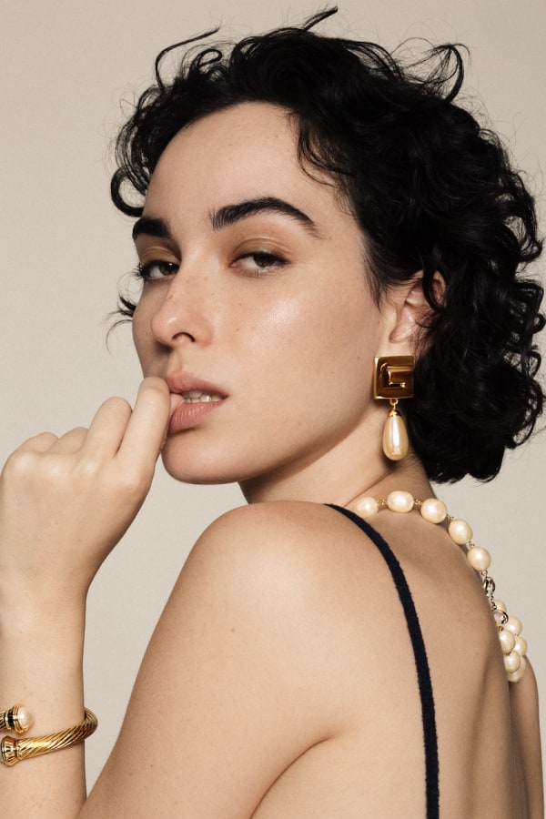 Susan Caplan x HURR Pre-loved Givenchy Earrings 1 Preview Images