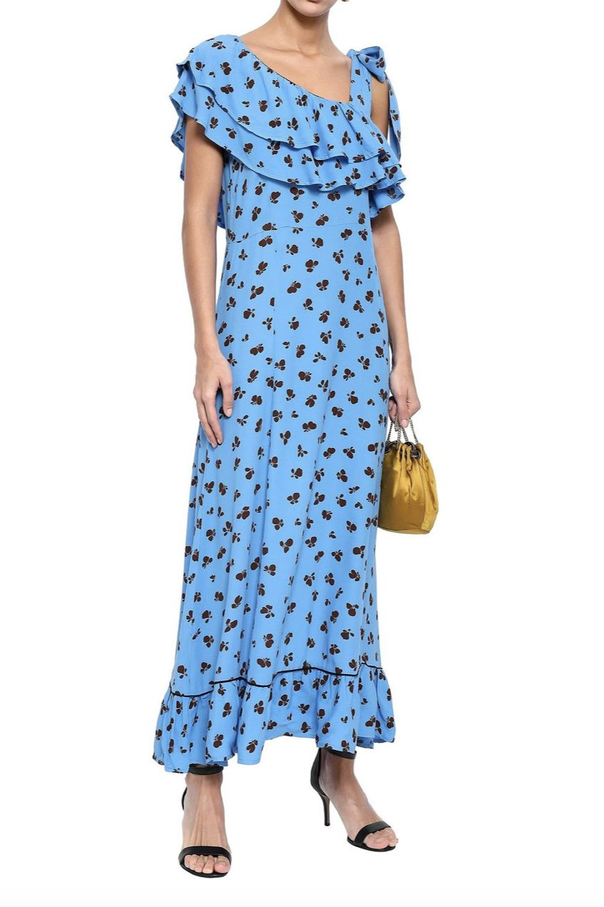 Ganni  Roseburg Dress 3 Preview Images