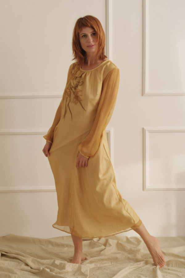 Lora Gene The Floral Thalia Dress