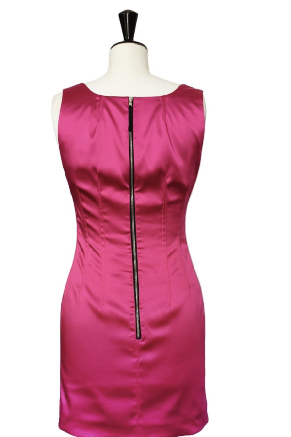 Dolce & Gabbana Satin Pink Mini  6