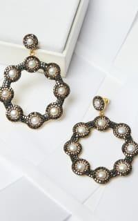 SORU Baroque Pearl Hoop Earrings 5 Preview Images