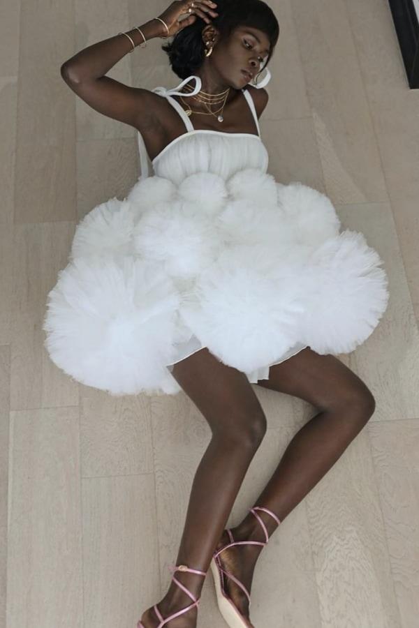 Image 3 of Lirika Matoshi cloud mini dress