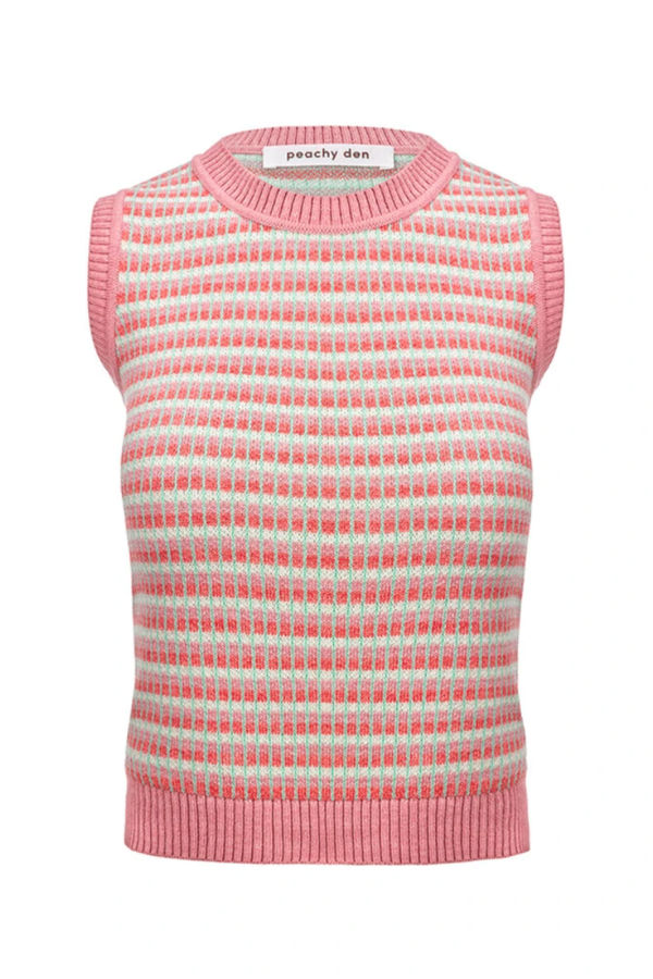Image 1 of Peachy Den the stella vest