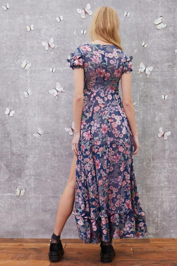 For Love and Lemons Flora Maxi Dress 3