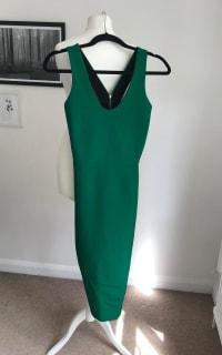 Victoria Beckham V-Back Ponte Sheath Dress 5 Preview Images