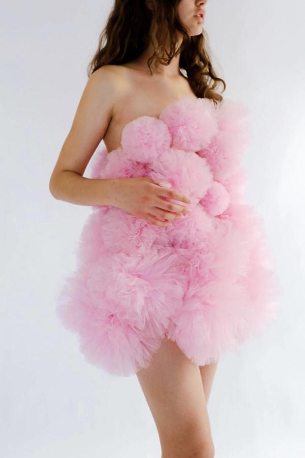 Image 1 of Lirika Matoshi cloud mini dress
