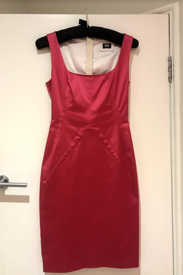 Dolce & Gabbana Satin Pink Mini  7