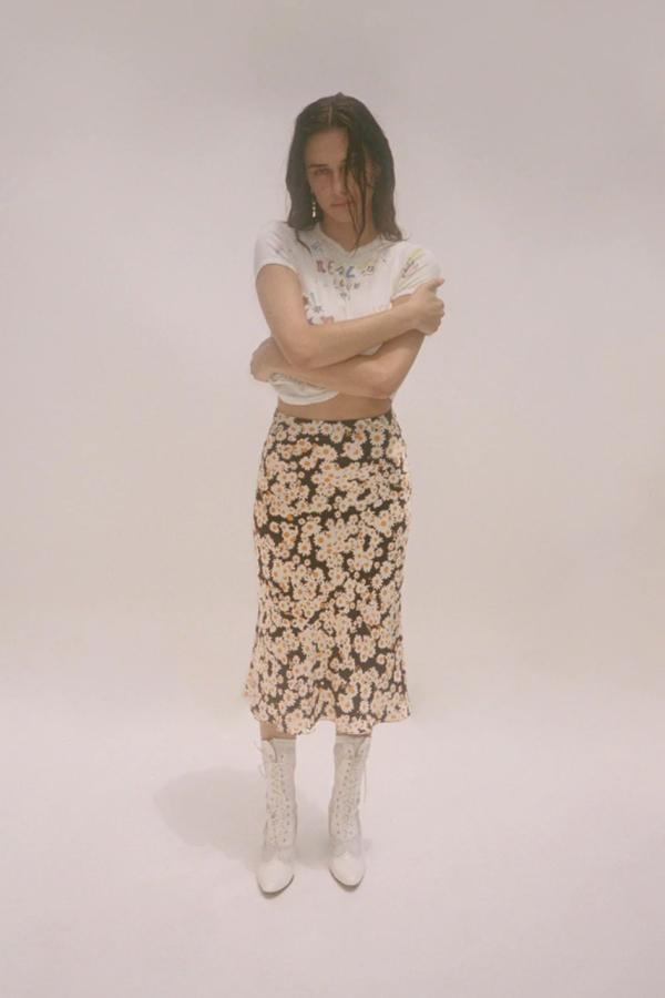 Realisation Par Naomi skirt in flower print 3