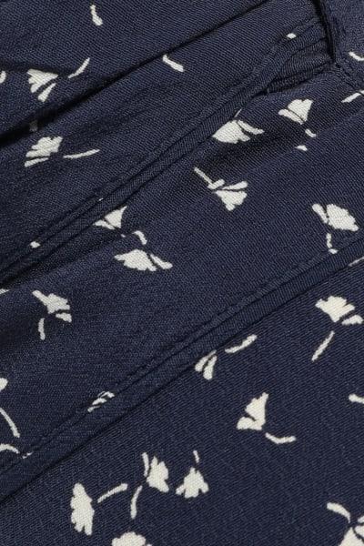 Ganni Barra floral-print crepe skirt 4