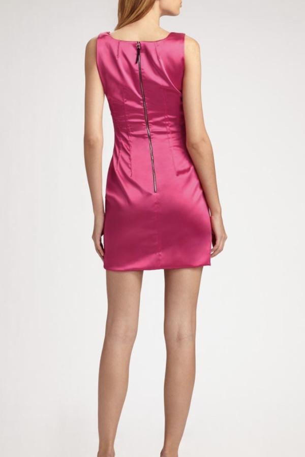 Dolce & Gabbana Satin Pink Mini  3