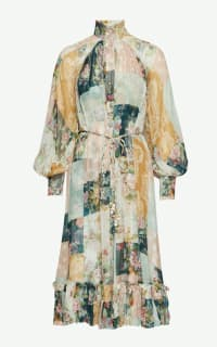 Zimmermann Patchwork floral silk dress Preview Images