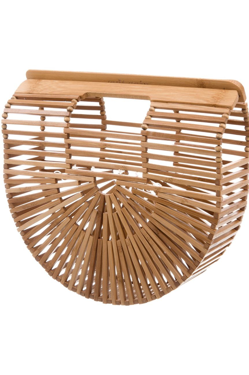 Cult Gaia Small Bamboo Ark Bag Preview Images