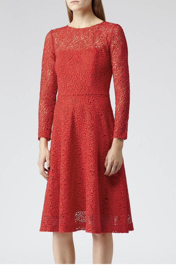 Reiss  Rhomona Lace Dress 2