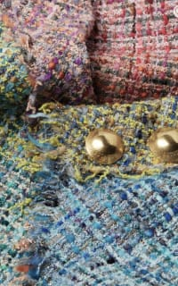Escada Dalira Multicolor Tweed Midi Dress 3 Preview Images