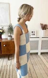 Freya Simonne Remy Checkerboard Dress 3 Preview Images