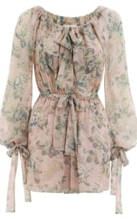 Zimmermann Tempest Gathered Playsuit Preview Images