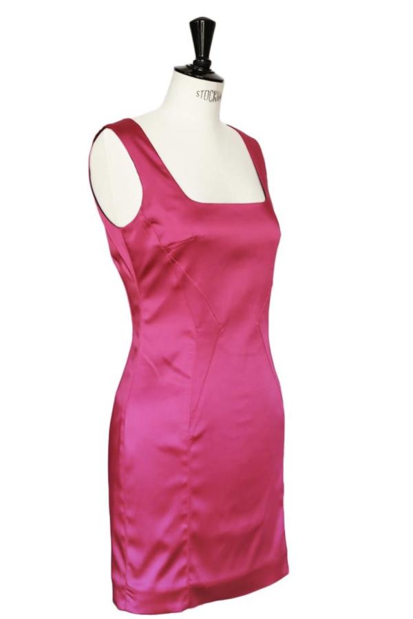 Dolce & Gabbana Satin Pink Mini  4